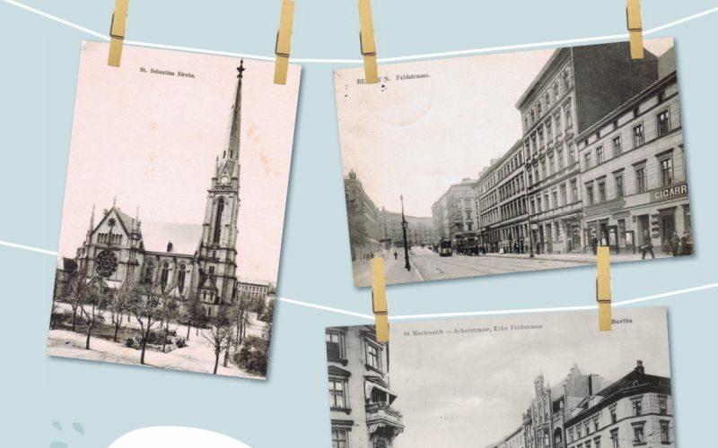 Historische Aufnahmen rund um den Gartenplatz